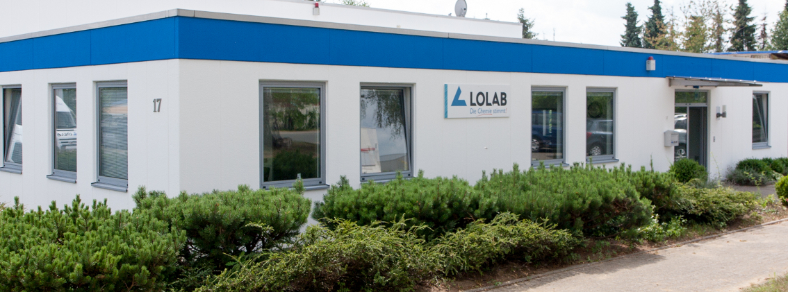 Bürogebäude der Firma LOLAB