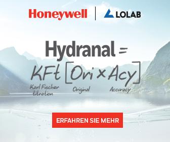 Honeywell und LOLAB bewerben Hydranal zur Karl Fischer Titration