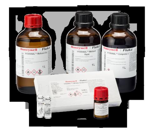 Hydranal Produkte von Fluka zur Karl-Fischer-Titration