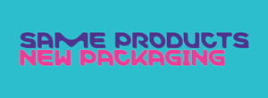 """Slider-Banner für das Merck Rebranding mit dem Schriftzug """"same products - new packaging"""""""