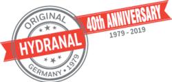 Hydranal vierzigster Geburtstag Button