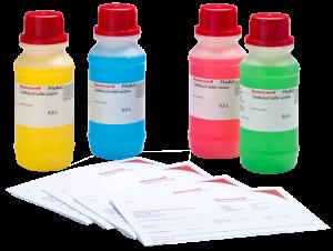 Pufferlösungen Honeywell, zertifiziert, gefärbt